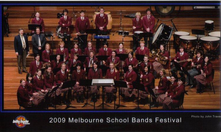 2009 Melbourne School Bands Festival